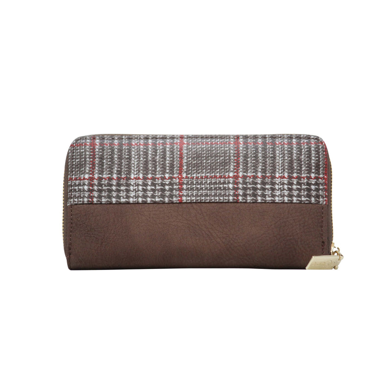 Clutch (FW-Coffee) - Gowma Non Leather Pvt Ltd