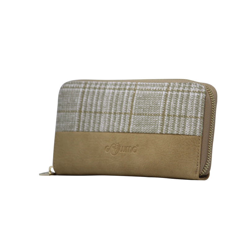 Clutch(FW-Beige) - Gowma Non Leather Pvt Ltd