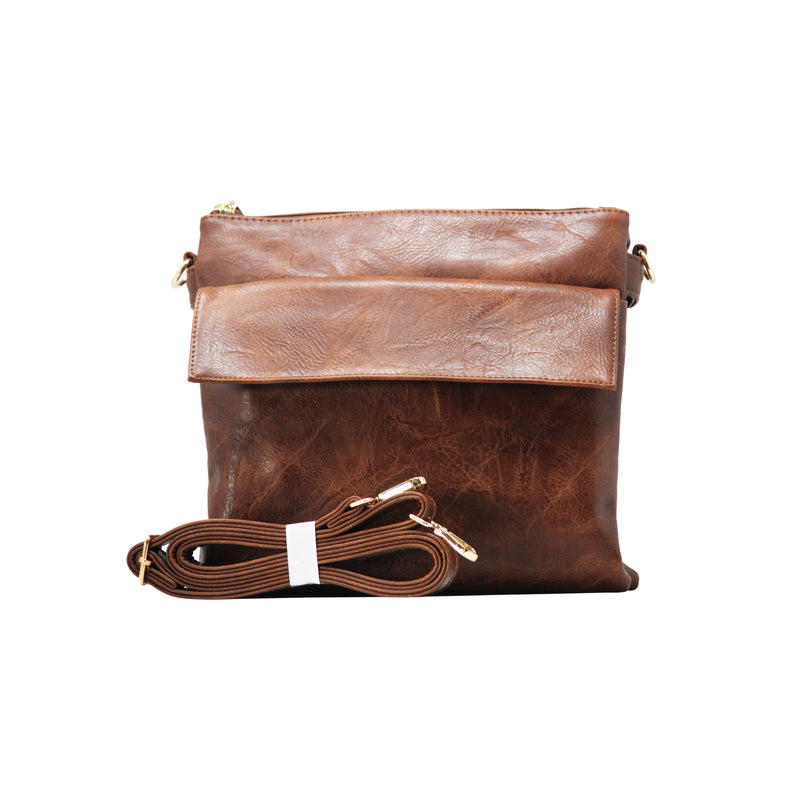 Sling bag FF - Brown - Gowma Non Leather Pvt Ltd