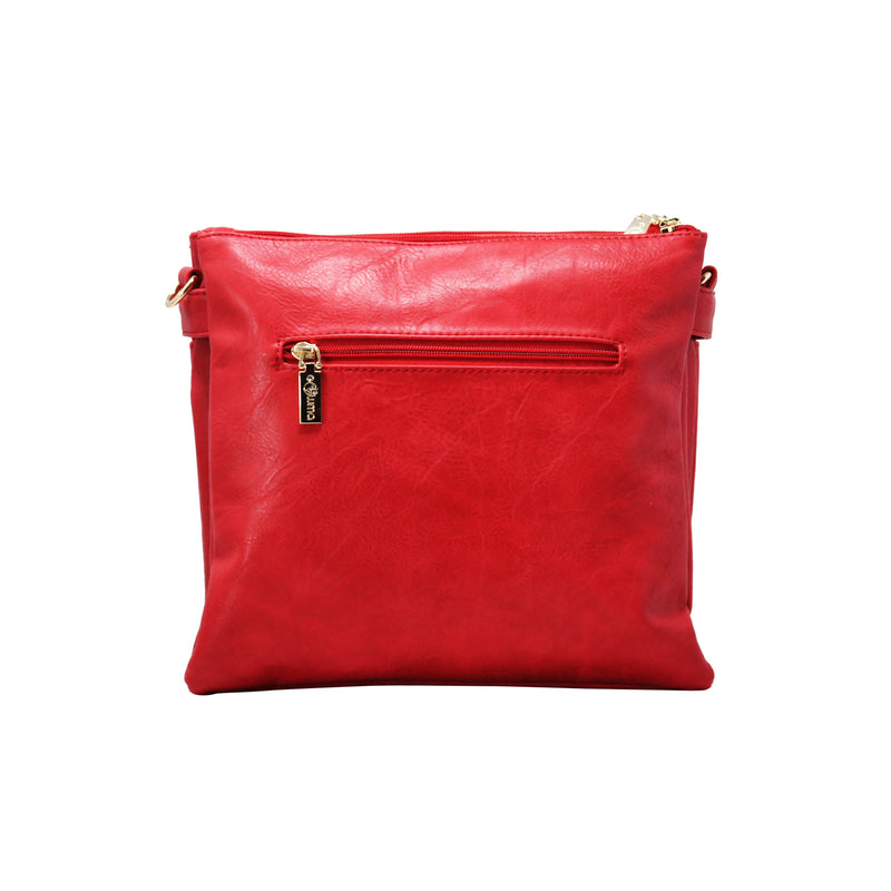 Sling bag FF - Red - Gowma Non Leather Pvt Ltd