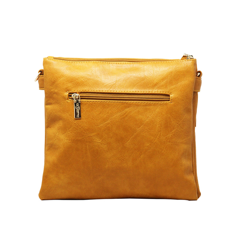 Sling bag FF - Yellow - Gowma Non Leather Pvt Ltd