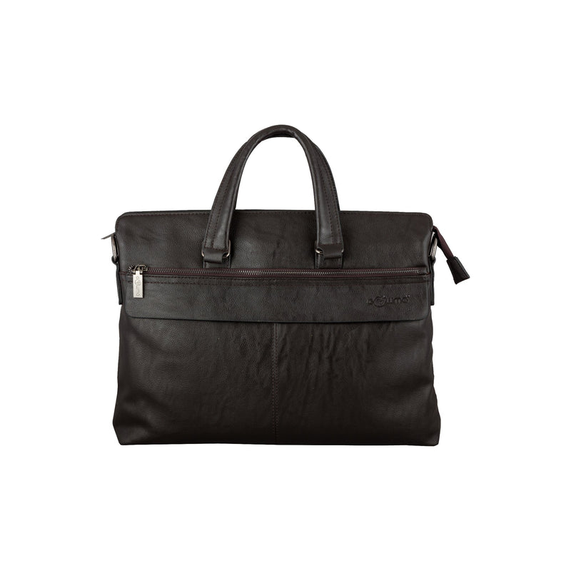 Laptop Bag (FZ-Brown)-gowma_non_leather