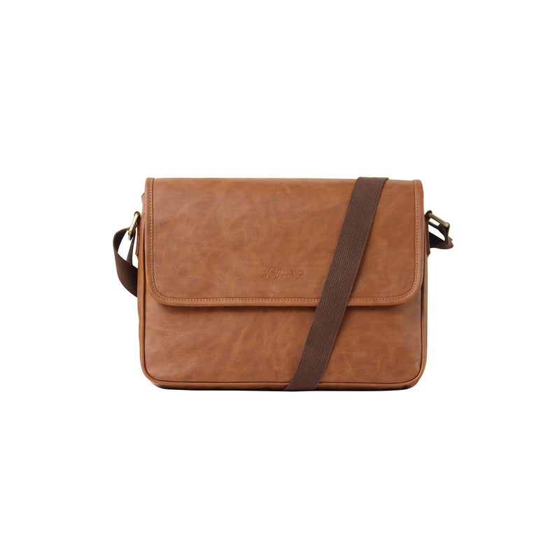 A4 Sling Bag Tan-gowma_non_leather