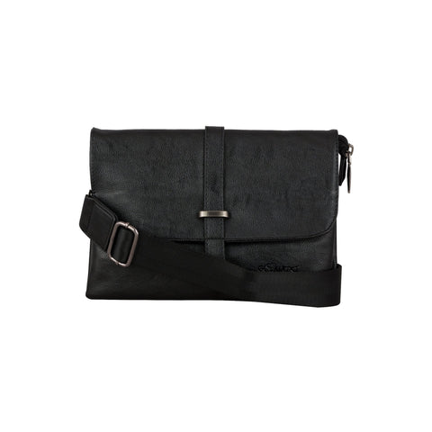 C Pattern Design  Sling Bag (CT) Black