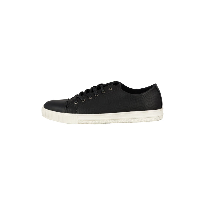 Casual Lace Up Shoes - Black-gowma_non_leather