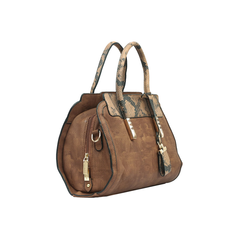 Handbag (ML-Coffee)-gowma_non_leather