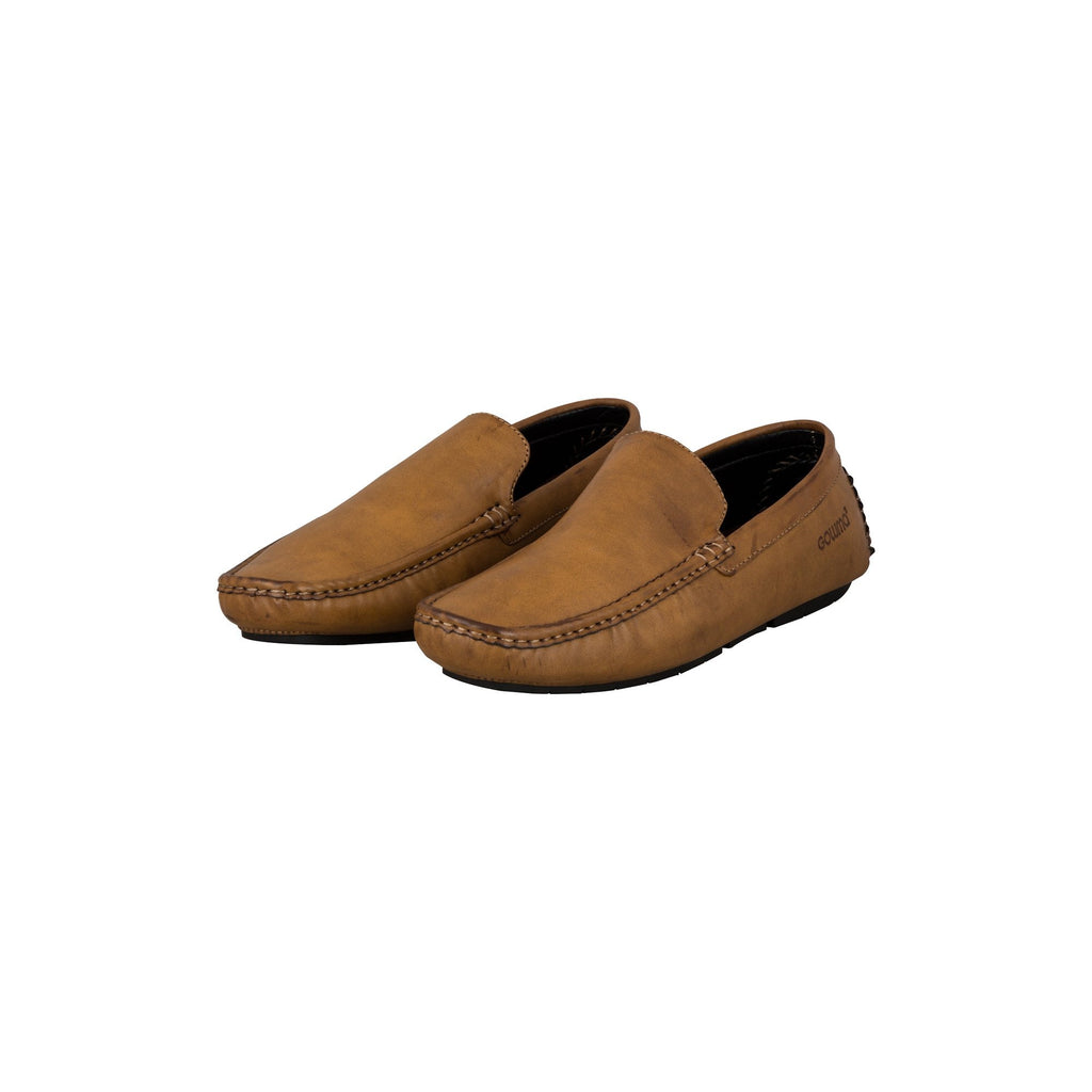 Sober Design Slip-on Shoes (Tan)-gowma_non_leather