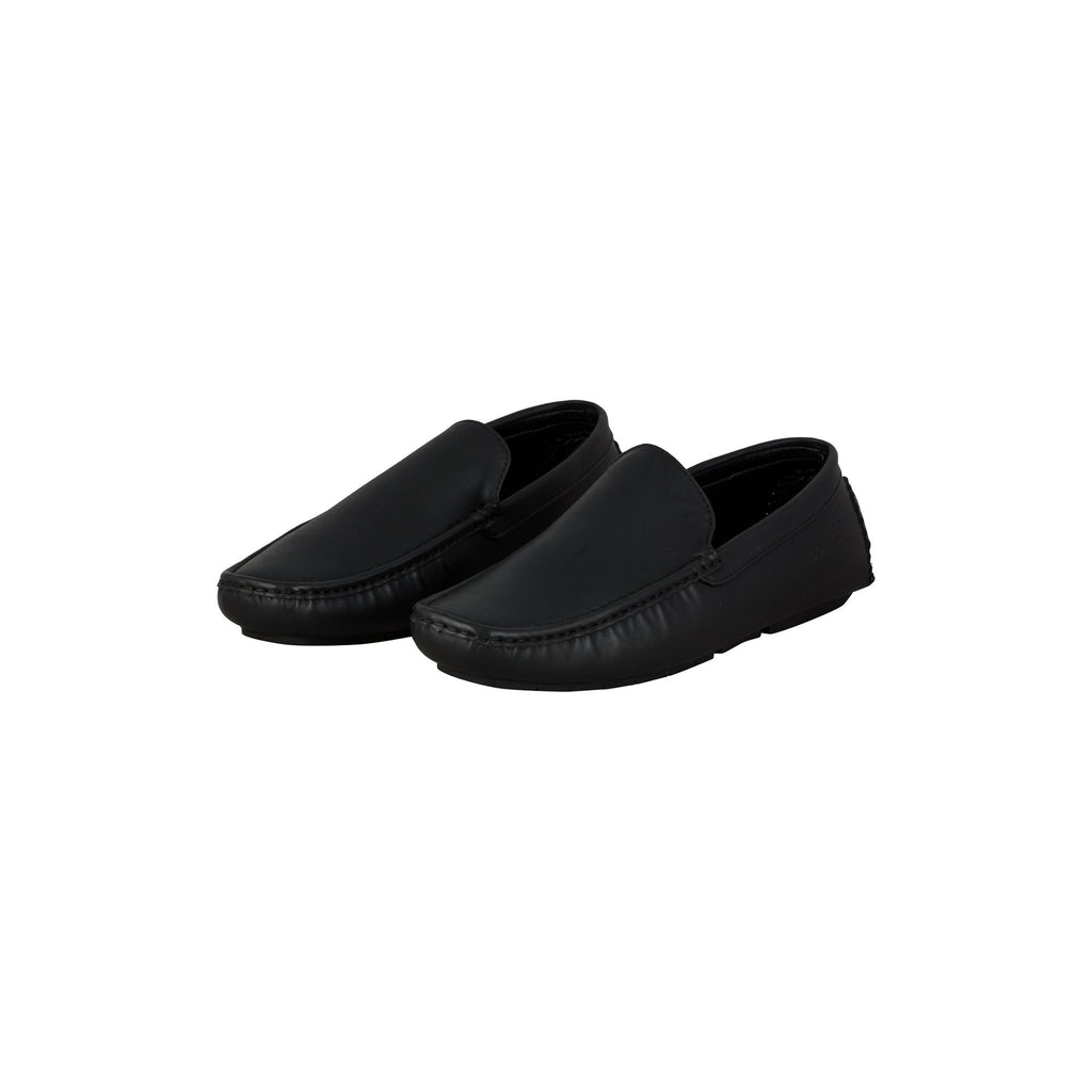 Sober Design Slip-on Shoes (Black)-gowma_non_leather