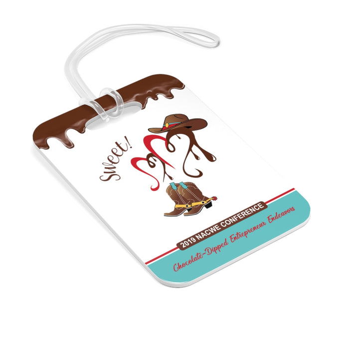 Chocolate-Dipped NACWE Bag Tag
