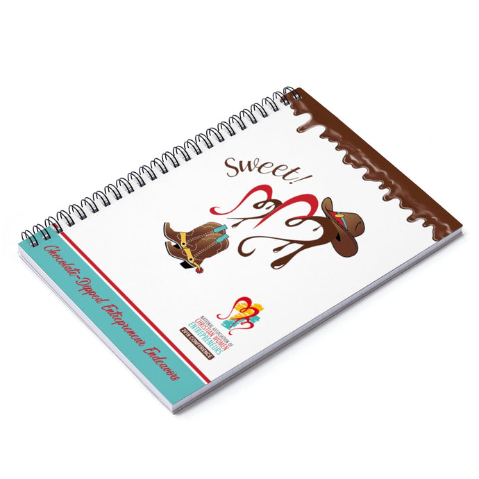 Chocolate-Dipped NACWE Spiral Journal - Ruled