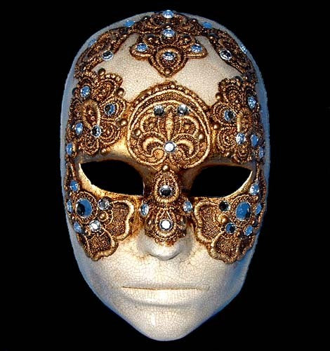 Volto Tom Cruise Venetian Mask
