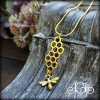 Honey Bee Charm