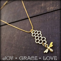 Honey Bee Mine Necklace