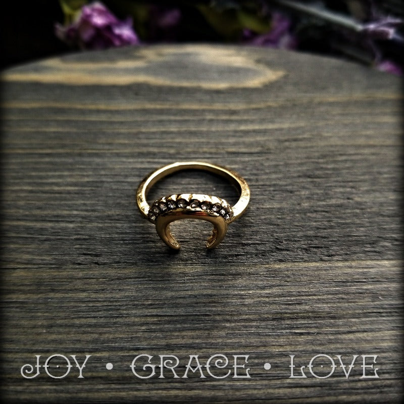 In-the-Mix Gold Fashion Ring Set