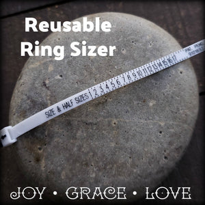 Reusable Ring Sizer