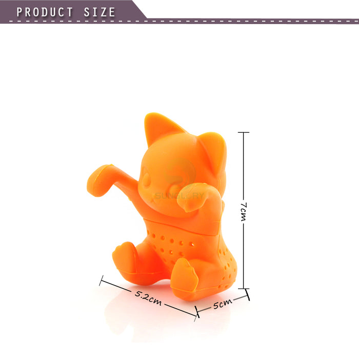 Cute Silicone Cat Tea Infuser