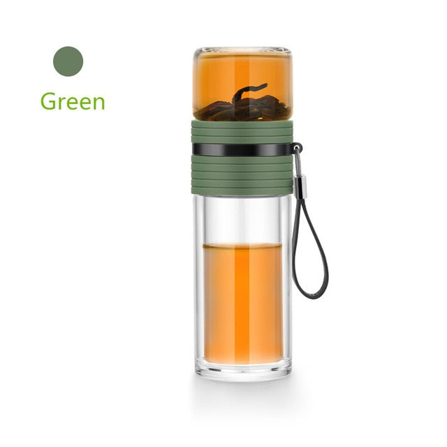 Smart Tea Infuser Portable Bottle