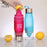 Lemon Squeezer Water Bottle - Citrus fruit Infuser