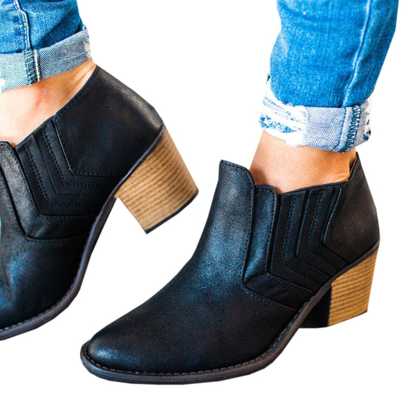 New Thick Ankle Boots