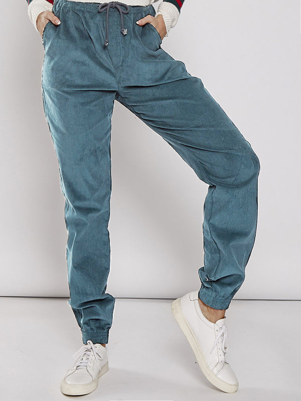 High Waist Casual Loose Trousers