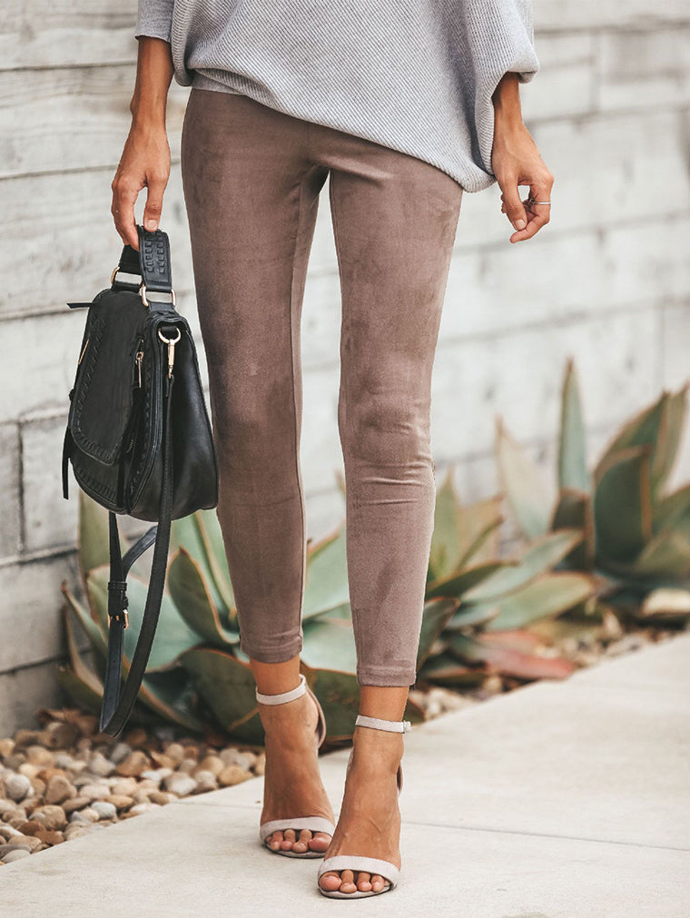 Women's Stylish Slim Capri-Pants