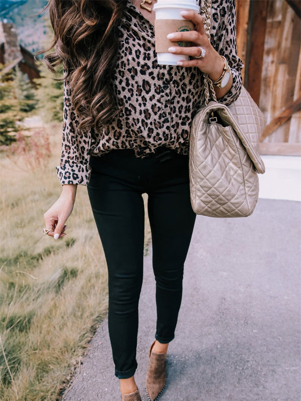 Leopard Long Sleeve Shirt