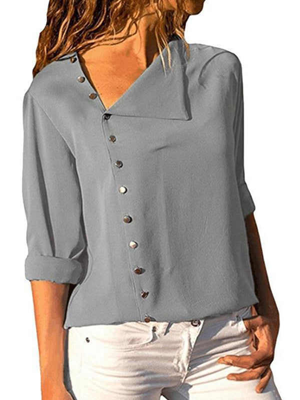 Casual Long Sleeve Women Blouse Shirts