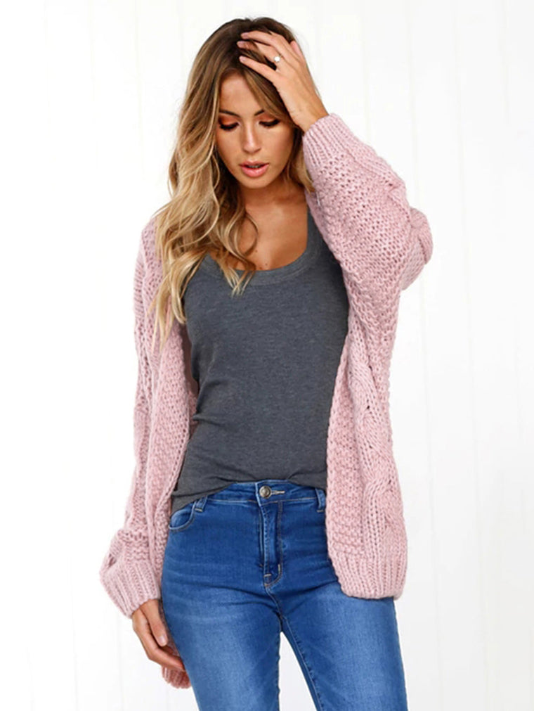 Loose Bat Sleeve Loose Cardigan