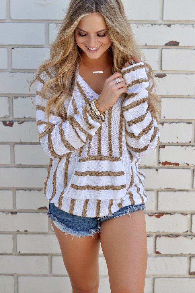 Casual Striped Comfortable Cotton Linen Breathable Shirt