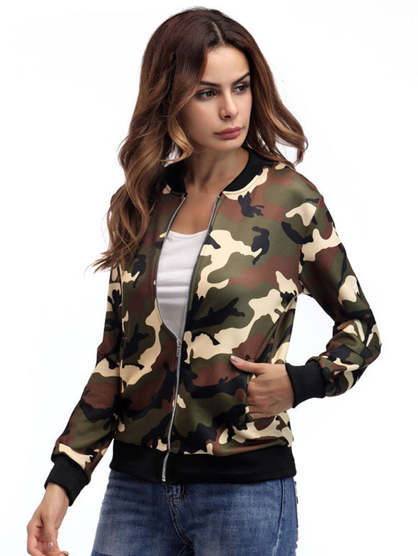 Camouflage Fashion Comfortable Jacket