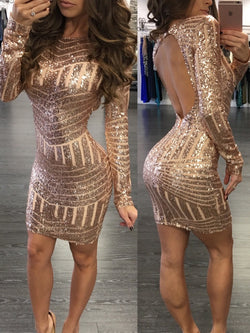 Sexy Sequin Dress