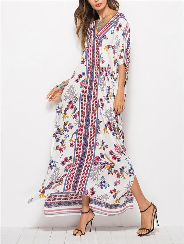 Printed Vocation Maxi Dress