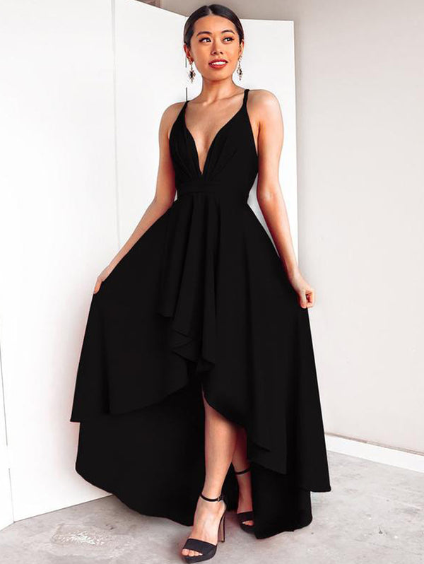 Sexy V-Neckline Harness Dress