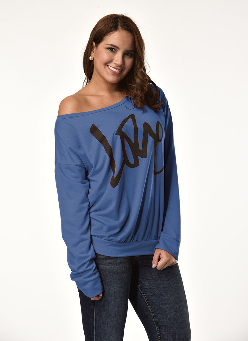 Round Neck Large Size Casual Sweater