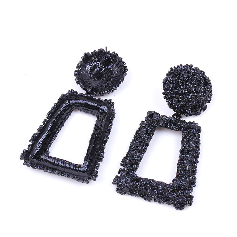 Fashion Quadrilateral Earrings