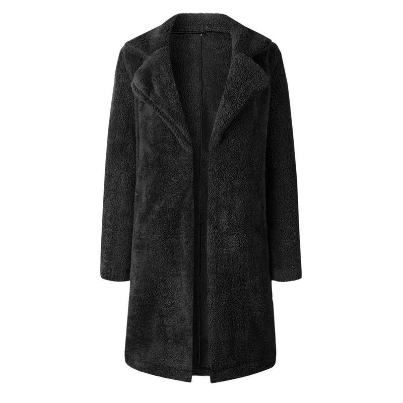 Fashion Lapel Long Sleeve Coats