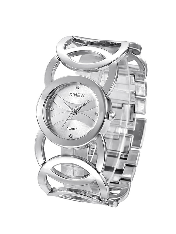 Steel Bracelet Lady Hot Luxury Brand Watch