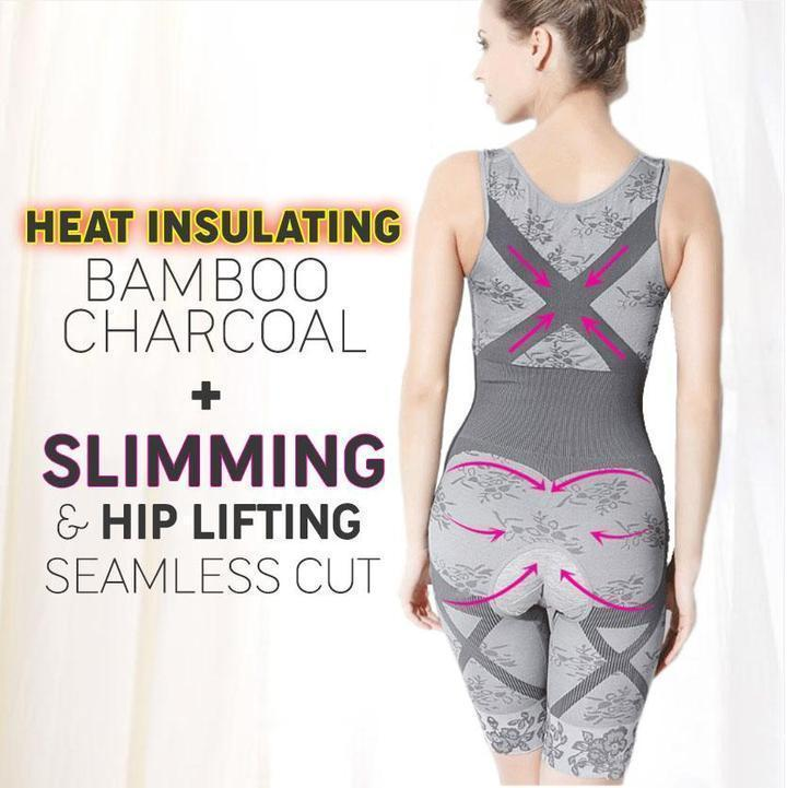 01ab4ff52310a Bamboo Charcoal Thermal Body Shaper – Beauty Waltz