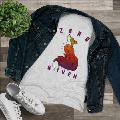 Clothing, t-shirts, sweatshirts, hoodies and tank tops with CherieSmittleArt exclusive designs. Zero Fox Given, Intelligent Posterior, Majestically Awkward