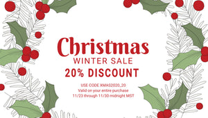 Christmas Sale, Winter Sale, 20% off entire site