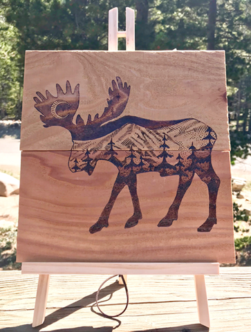 Moose Mountain Pyrography (Wood Burning)