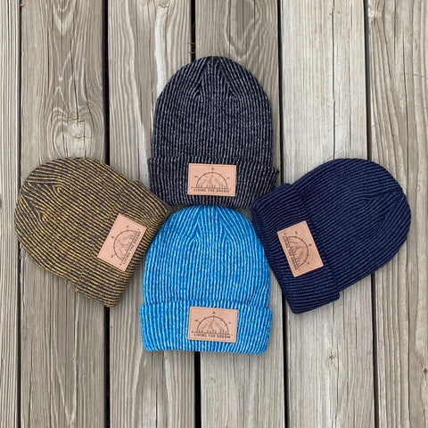 Longshoreman Slouch Beanie : living the dream beanie, living the dream slouch beanie, mountain beanie, compass beanie