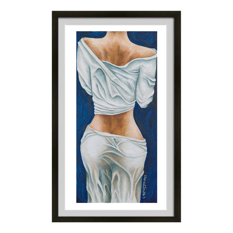 female form art, female figure art, booty art, butt art, woman's behind art, lady backside art: fine art print, colorado artist, colorado art