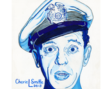 Barny Fife , Andy Griffith Show, Police Officer, Boys in Blue, Pop Art