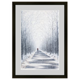 last mile, run art, running art, runner art, winter run art, winter running, running in the snow, colorado artist, colorado runner