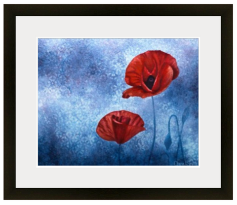 Poppies, poppy, poppy art, colorado artist, colorado art, colorado artwork