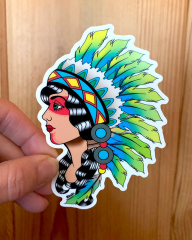 Sticker: Warrior Princess