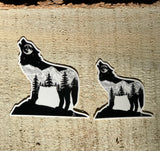 Sticker: CO, Wolfing Around