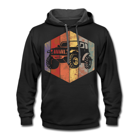 Unisex Hoodie : Rainbow Jeep - black/asphalt; Jeep Hoodie, Jeep Hoodie, Jeep Sweatshirt, Jeep Girl Sweatshirt, Jeep Girl Hoodie, Overland Jeep Sweatshirt, Overland Jeep Hoodie, Rainbow Jeep Sweatshirt, Rainbow Jeep Hoodie, Jeep Lover Sweatshirt, Jeep Lover Hoodie