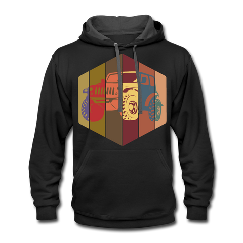 Unisex Hoodie : Pop Art Jeep - black/asphalt; Jeep Hoodie, Jeep Hoodie, Jeep Sweatshirt, Jeep Girl Sweatshirt, Jeep Girl Hoodie, Overland Jeep Sweatshirt, Overland Jeep Hoodie, Rainbow Jeep Sweatshirt, Rainbow Jeep Hoodie, Jeep Lover Sweatshirt, Jeep Lover Hoodie, pop art jeep hoodie, pop art jeep sweatshirt